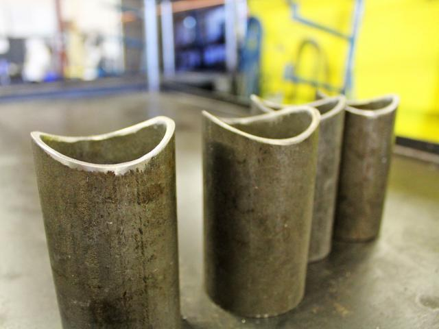 Cut and Deburred Pipe