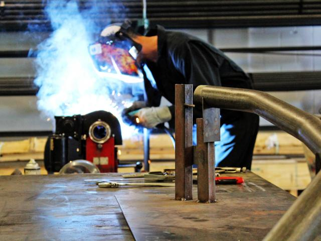 Welding Prototype Parts First Off Process